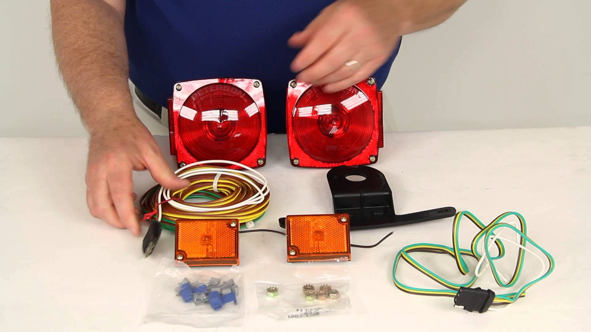 Harbor Freight Trailer Light Kit Wiring Diagram Free Download Harness Images Gallery