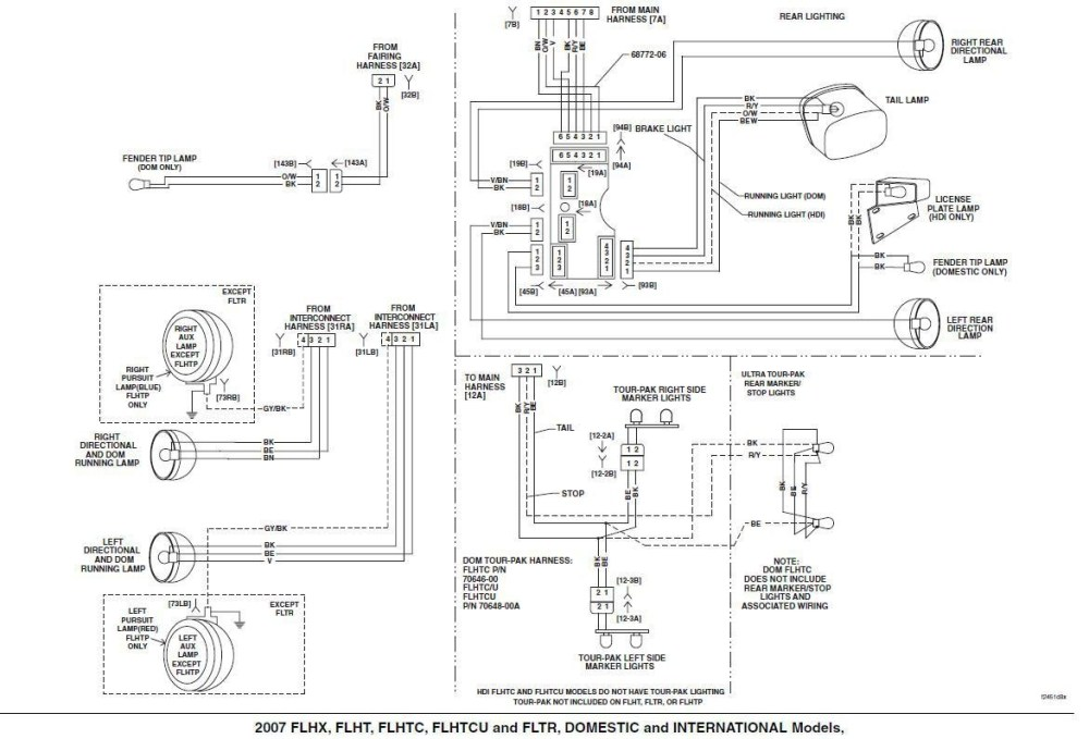 medium resolution of 2012 harley davidson road king wiring diagram wiring schematic diagramwire diagram 2007 road king wiring schematic
