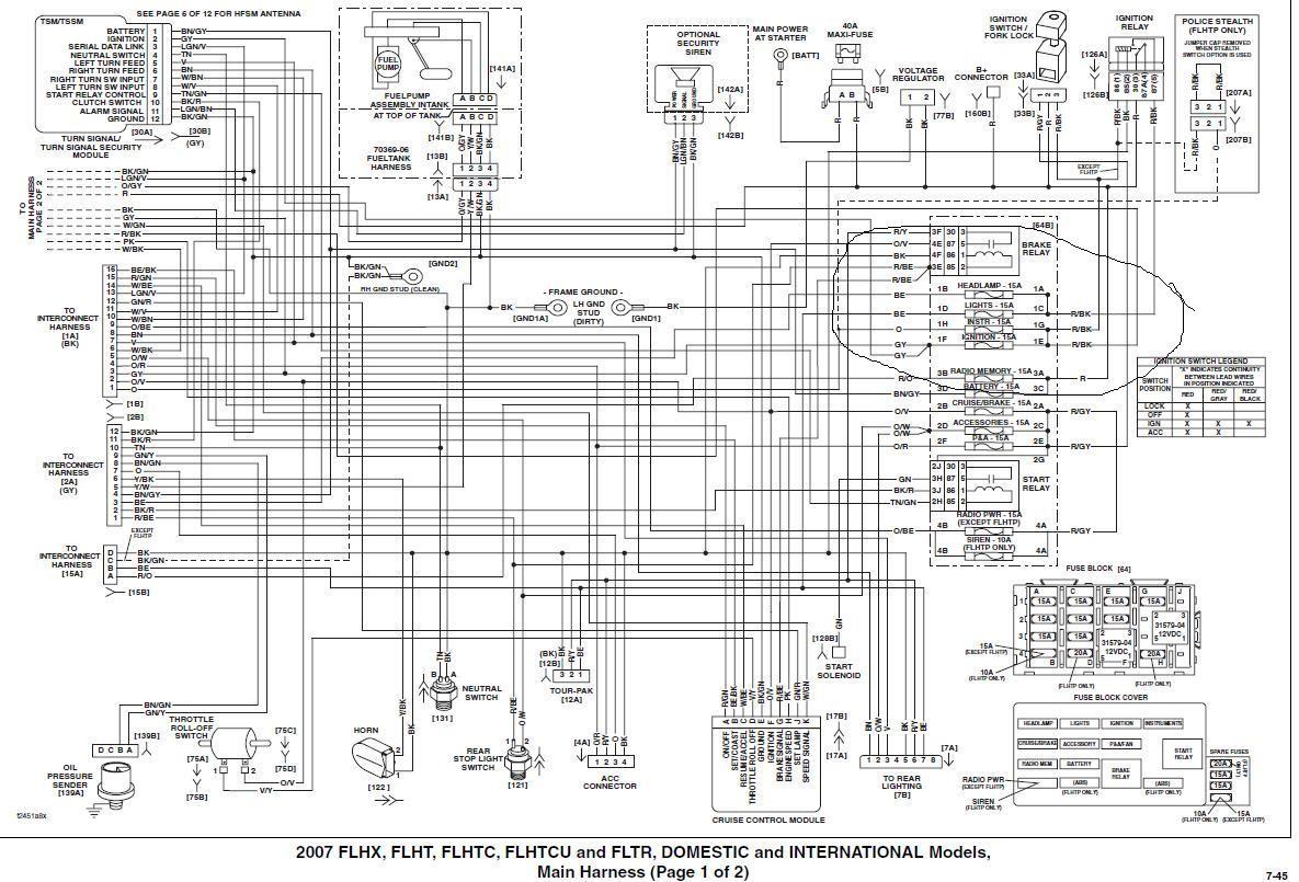 harle davidson engine diagrams
