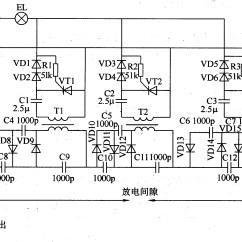 High Voltage Circuit Diagram Radio Wiring For 2004 Ford Explorer Generator Image
