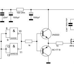 High Voltage Circuit Diagram 2000 Ford 7 3 Engine Generator Wiring Image
