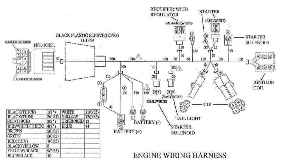 medium resolution of honda gxv390 wiring wiring diagram rows honda gx390 starter wiring diagram honda gx390 wiring diagram