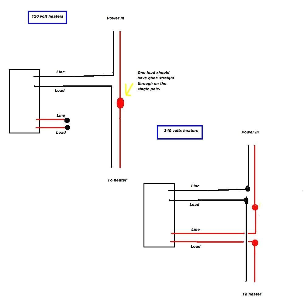 medium resolution of wiring diagram for two pole thermostat wiring diagram rows 1 pole thermostat wiring diagram