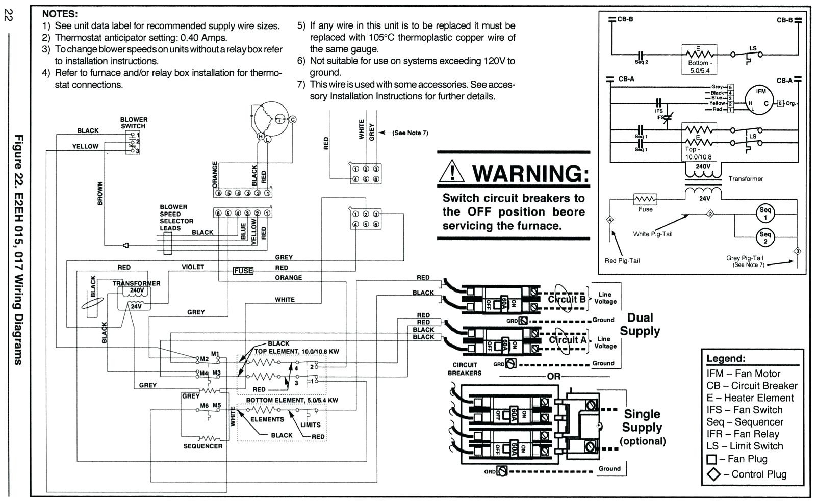 mobile home thermostat wiring diagram 5 pin relay circuit intertherm image