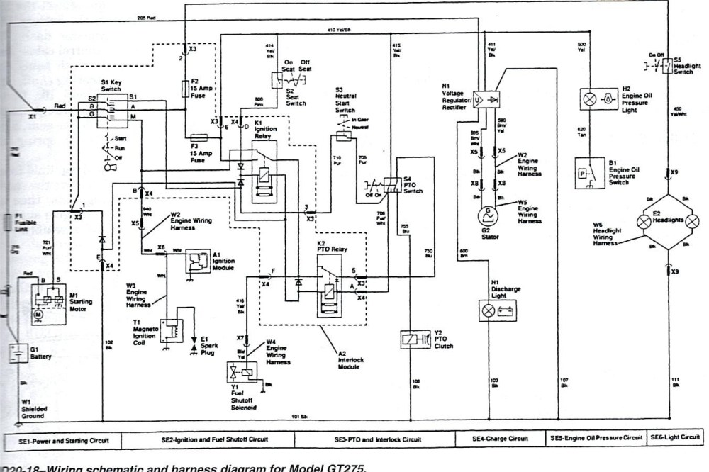 medium resolution of gt275 wiring diagram wiring diagram data schema john deere gt275 voltage regulator wiring diagram gt275 wiring