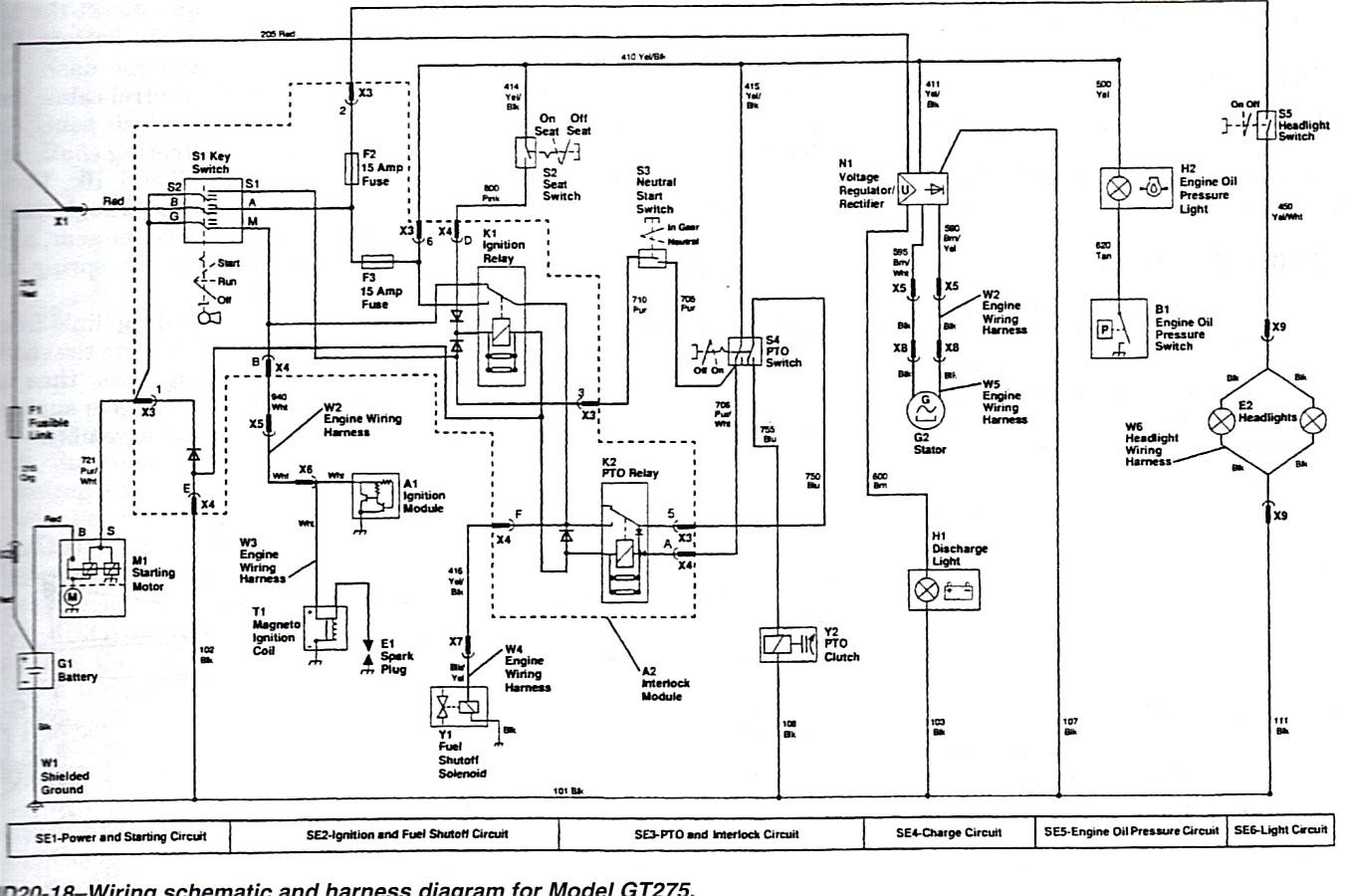 hight resolution of gt275 wiring diagram wiring diagram data schema john deere gt275 voltage regulator wiring diagram gt275 wiring
