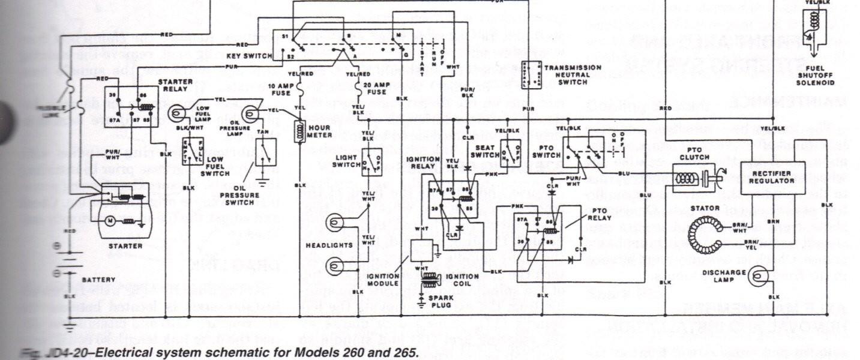john deere 316 wiring diagram pdf boat trailer 5 pin 750 schematic diagrams 265 mower diy enthusiasts u2022 rh broadwaycomputers us 4100 electrical 318