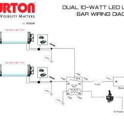 12v Led Lights Wiring Diagram 1966 Corvette Turn Signal Light Bar Relay Image