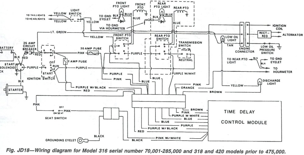 medium resolution of john deere 4230 wiring diagram wiring diagram post 4230 john deere ignition wiring diagram