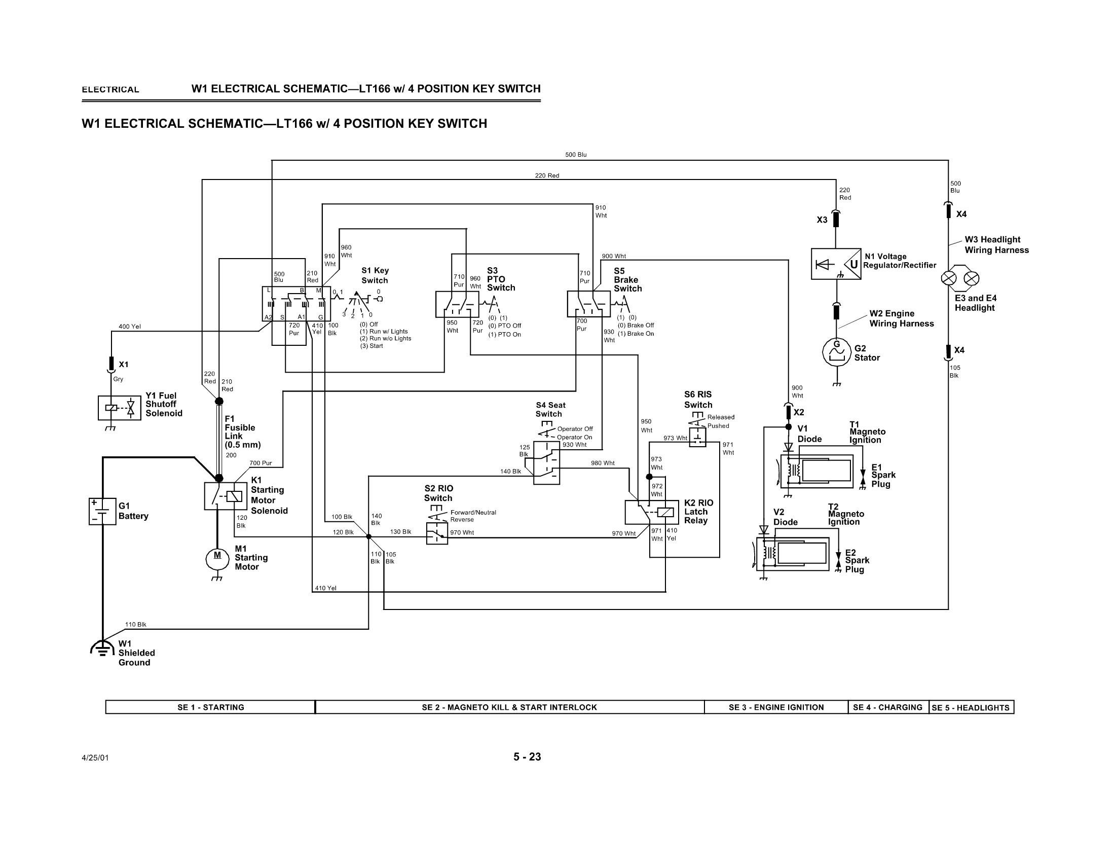 Lx172 Wiring Diagram Schematic Diagrams X540 Tractor John Deere Online