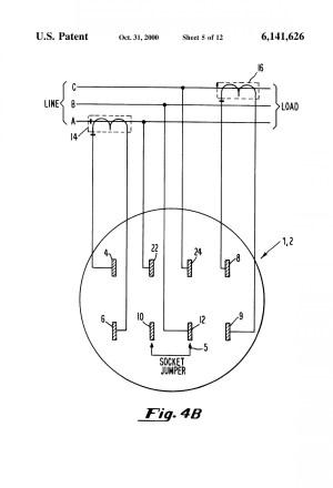 Milbank 200 Amp Meter Socket Wiring Diagram  Somurich