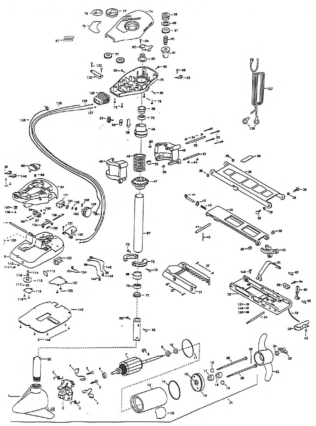 minn kota motor repair