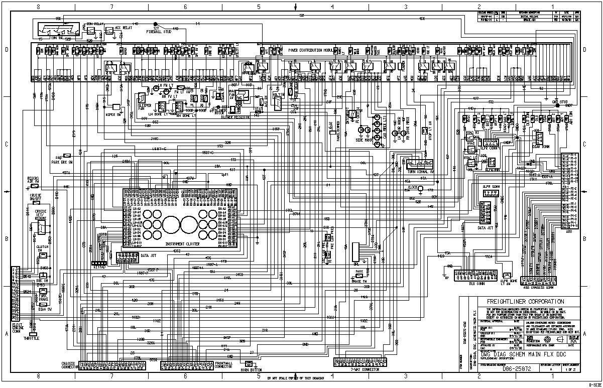 Peterbilt Wiring Schematics Schematic Diagram Data