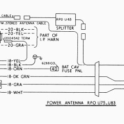 Power Antenna Wiring Diagram Active Directory Visio Image