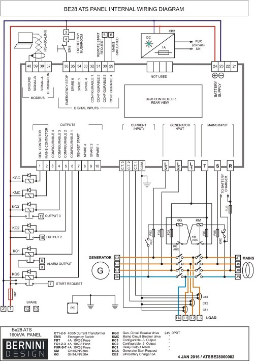 small resolution of automatic transfer switch between solargenerator and fs generac wiring diagram