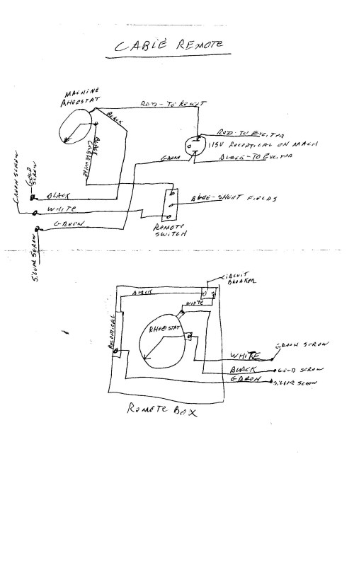 small resolution of lincoln sa 250 remote wiring diagram diy enthusiasts wiring diagrams u2022 dc welder wiring diagram