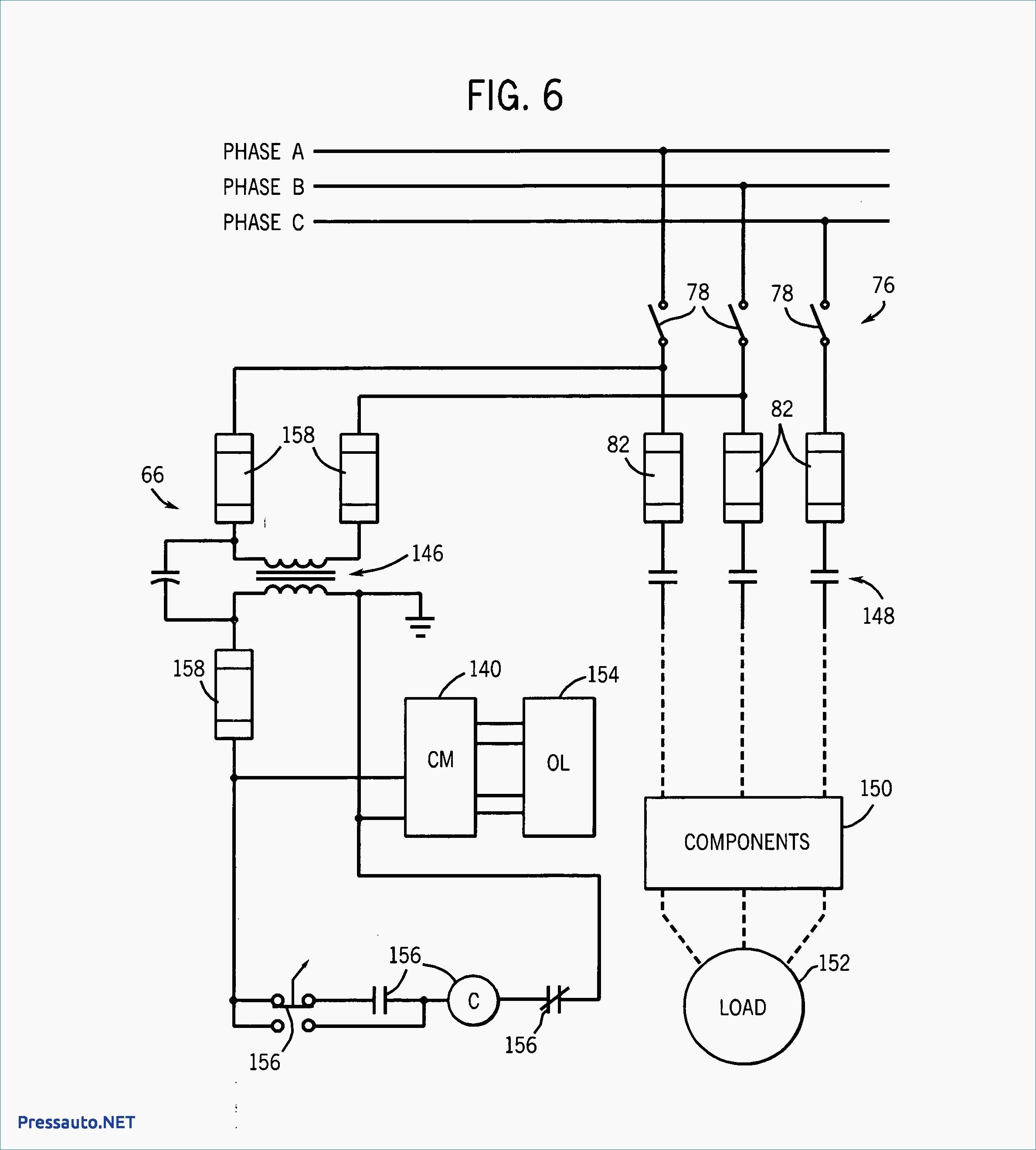 psc motor wiring diagram 120v