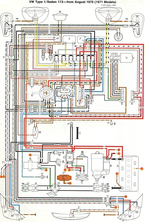 small resolution of vw wiring diagram wiring diagram image rh mainetreasurechest com 1973 vw beetle engine