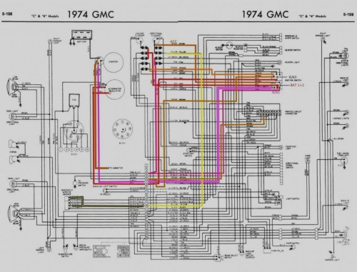 small resolution of  gmc vandura fuse panel 1974 74 corvette wiring diagram manual ebay wire center u2022 rh pepsicolive co k 5