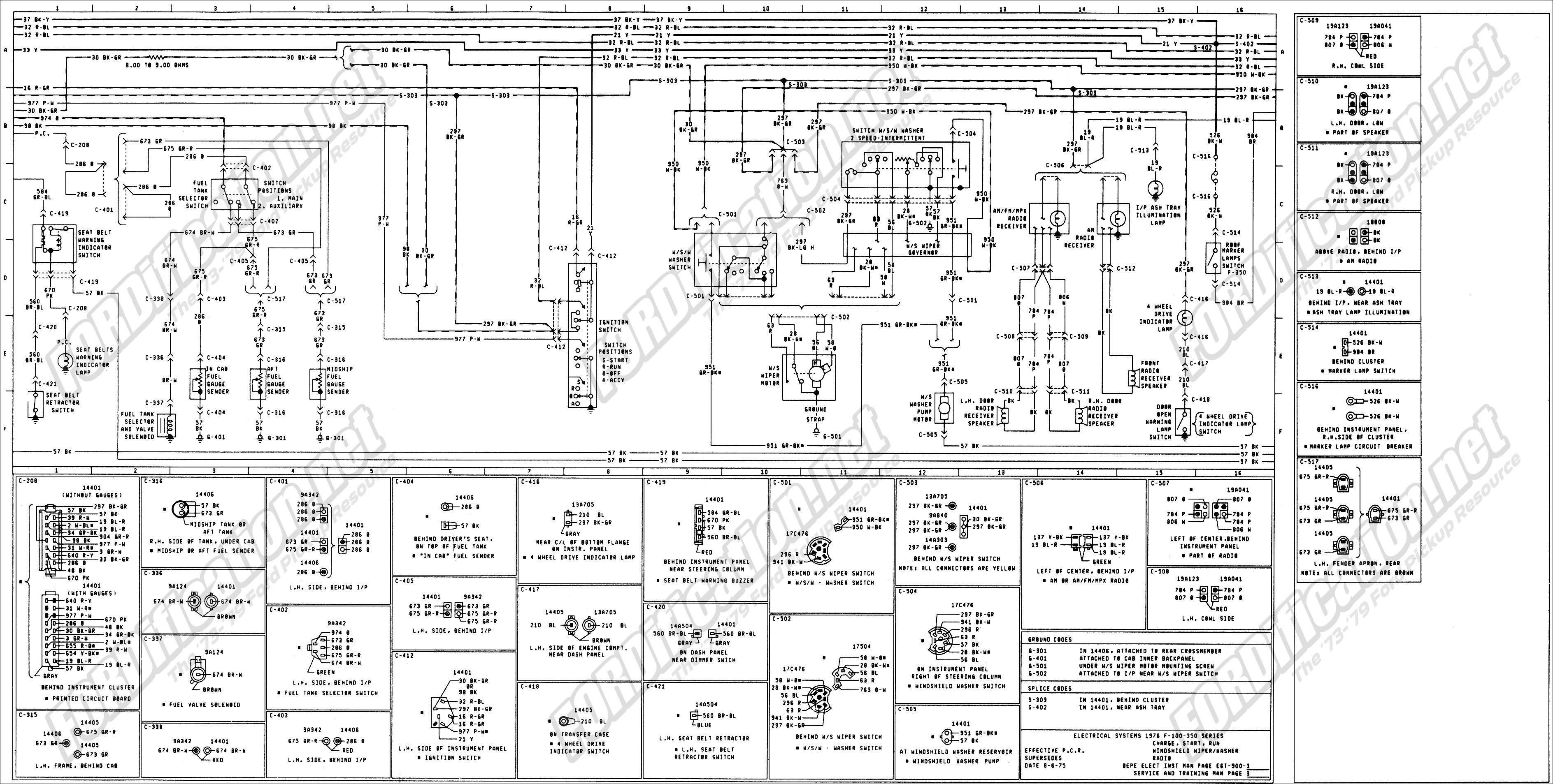 77 Ford Alternator Wiring