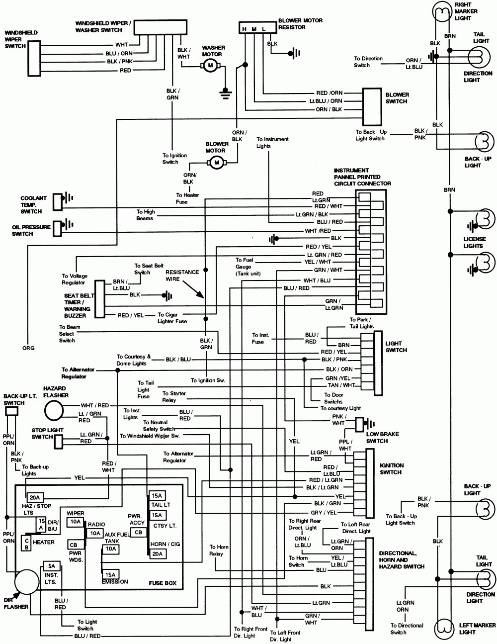 medium resolution of 95 ford thunderbird engine diagram wiring diagrams bib 1995 thunderbird ecm wiring diagram