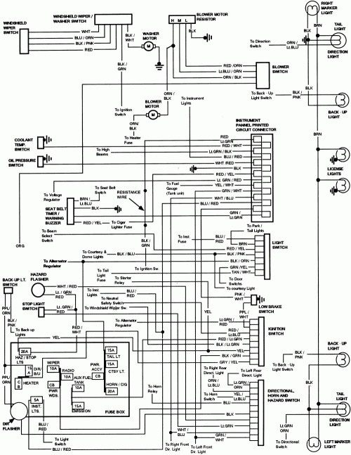 small resolution of 1988 ford f 150 wiring diagram wiring diagram blog ecm wiring diagram 1990 ford t bird 3 8 source 1995 ford thunderbird lx 4 6 v8