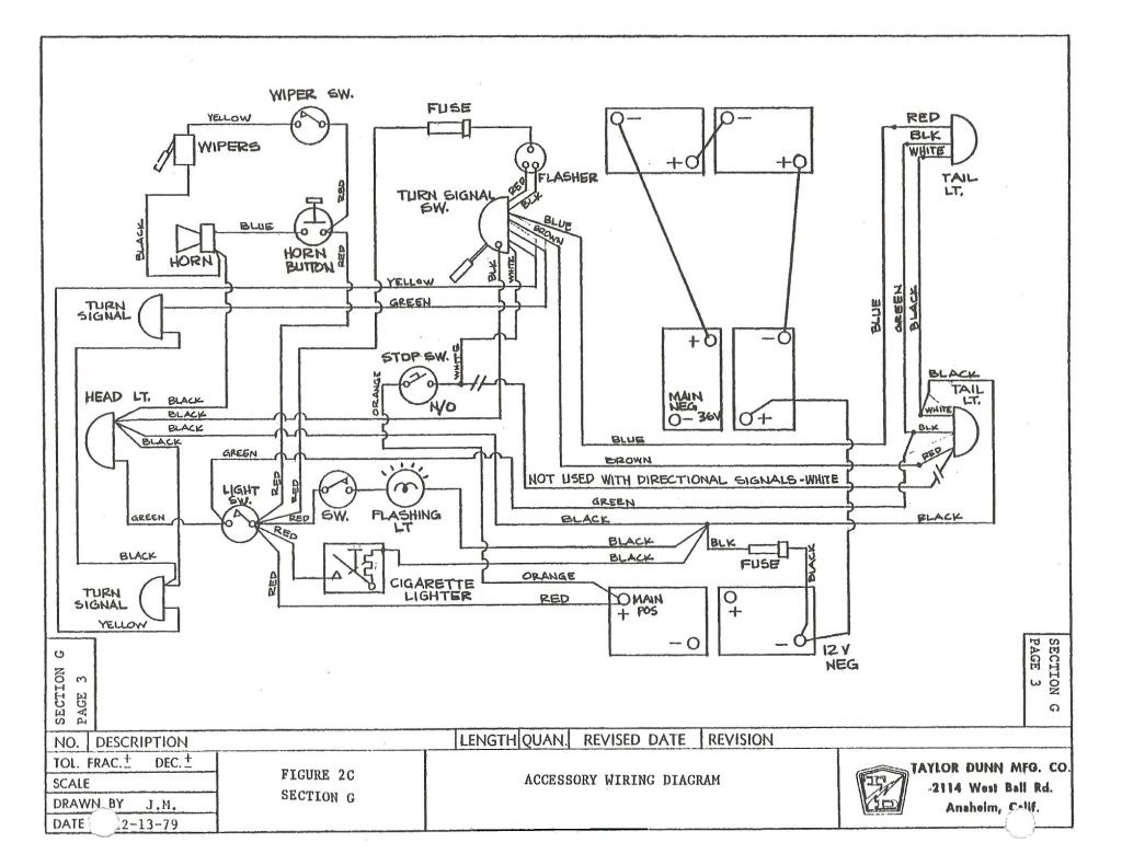 2001 club car wiring diagram ba falcon 1994 image