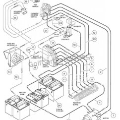 2006 Club Car Precedent Electric Golf Cart Wiring Diagram Toyota Radio For 2005 Database 48 Volt Best Library
