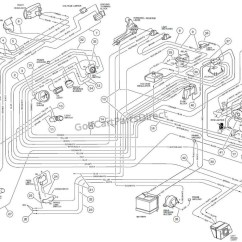 Club Car Wiring Diagram 1993 Honda Obd2 Alternator 1996 48 Volt Image