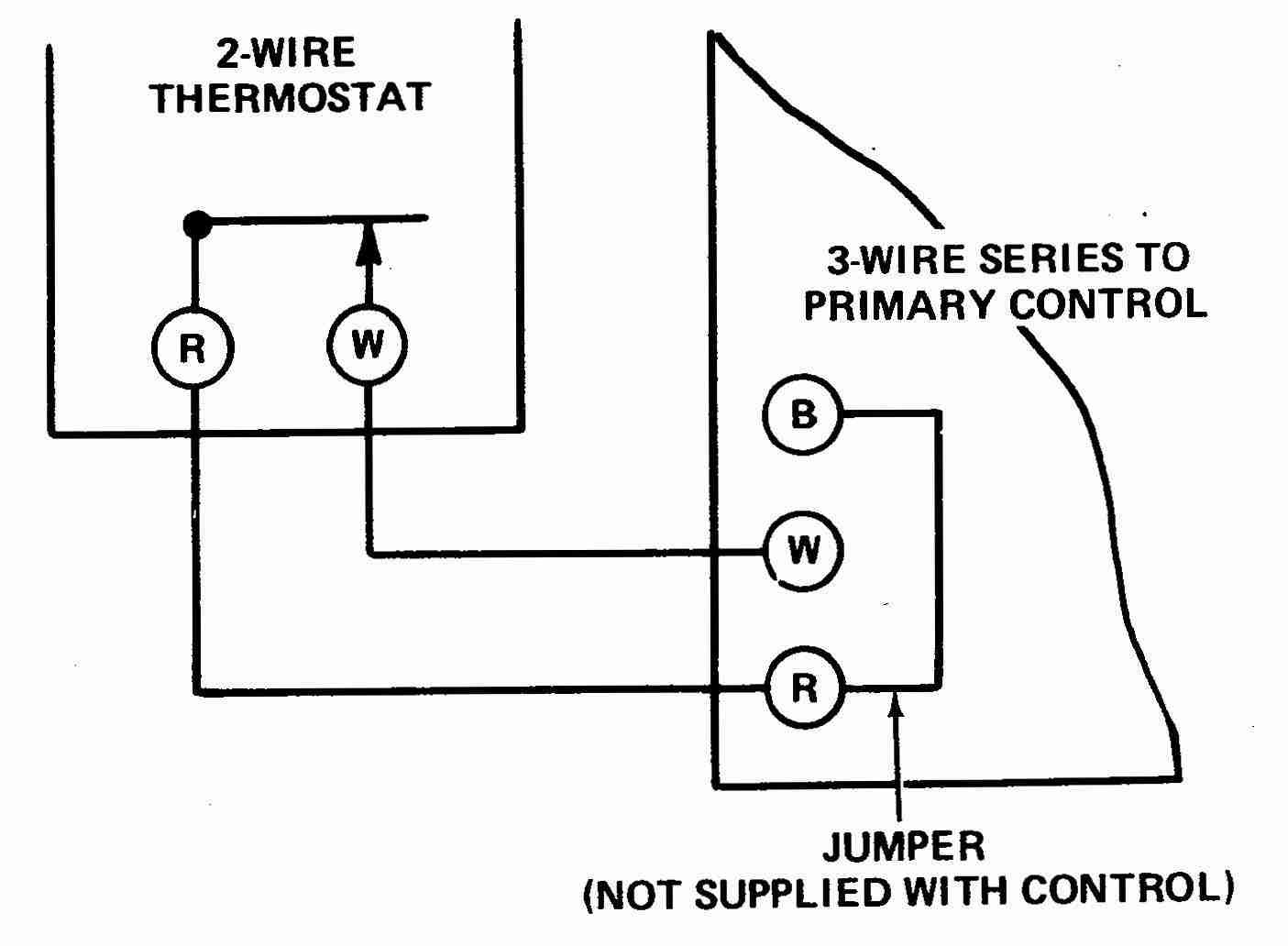 2 Wire thermostat Wiring Diagram Heat Only Inspirational