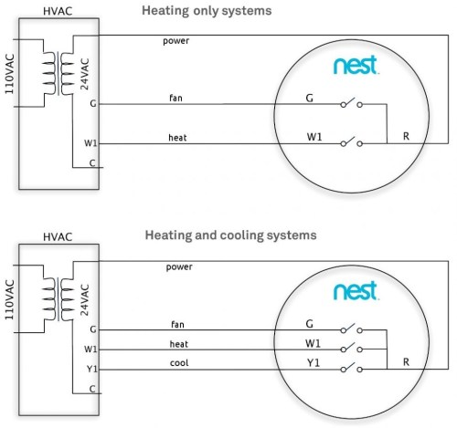 small resolution of 2 wire thermostat wiring diagram heat only inspirational