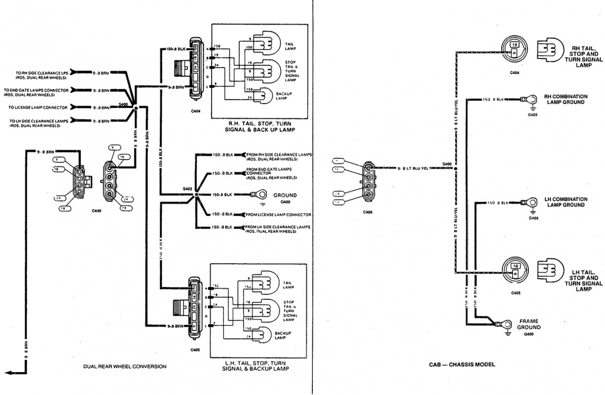 hight resolution of 2001 chevy venture tail light wiring harness trusted wiring diagram rh dafpods co dodge truck tail