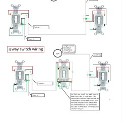 Electrical Wiring Diagram Light Switch Tank 150cc Scooter 4 Way Awesome