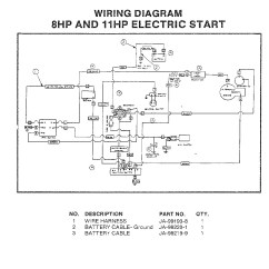 Briggs And Stratton Wiring Diagram 12hp For Trailer Plug With Electric Brakes 11 Hp Best Site Harness