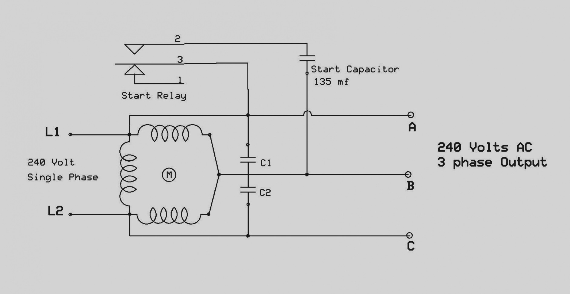 hight resolution of 240 single phase wiring diagram relay enthusiast wiring diagrams u2022 wiring diagram for 480 volt