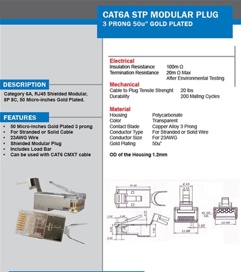 medium resolution of ez rj45 cat 6 connector wiring diagram ideal cat 6