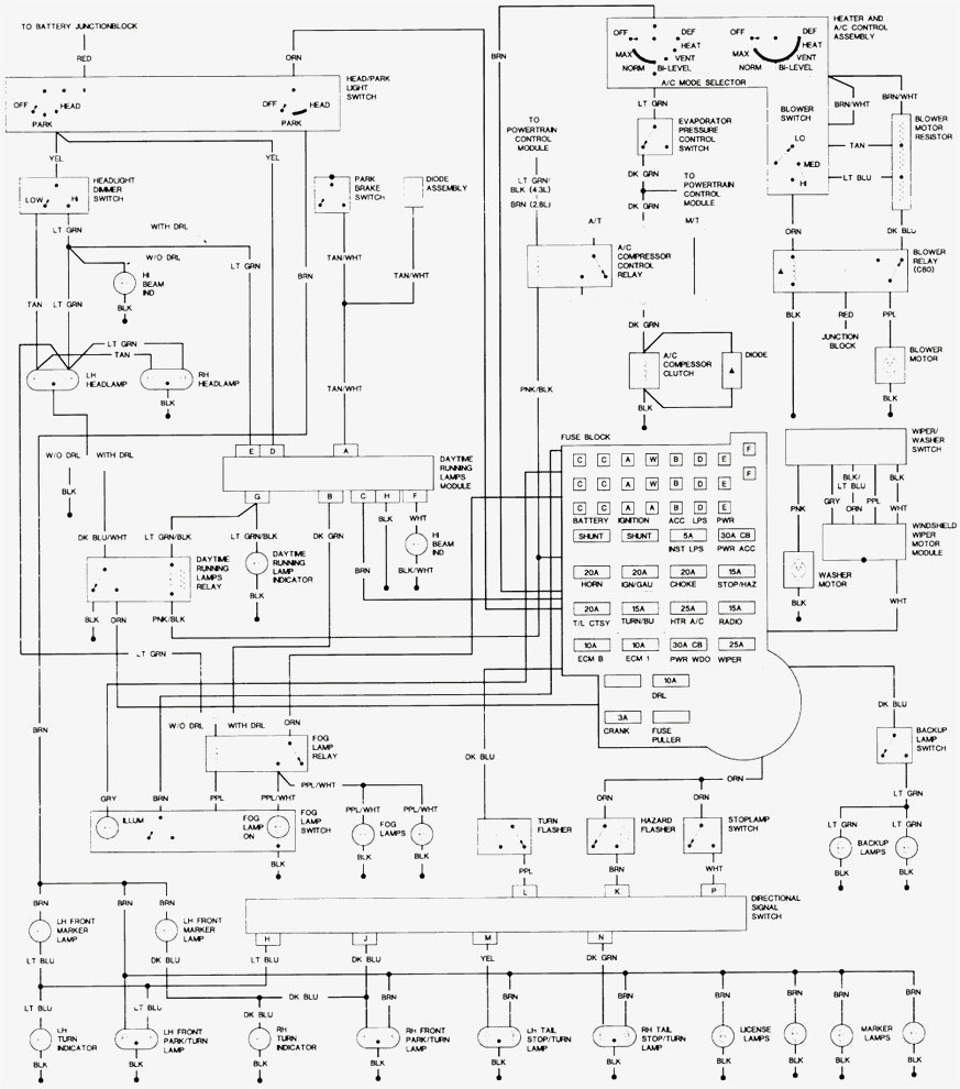 medium resolution of wiring diagram for chevy s10 wiring diagram 1996 chevy s10 pick up hawke dump trailer
