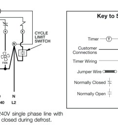 Commercial Freezer Defrost Timer Wiring - beverage air ... on