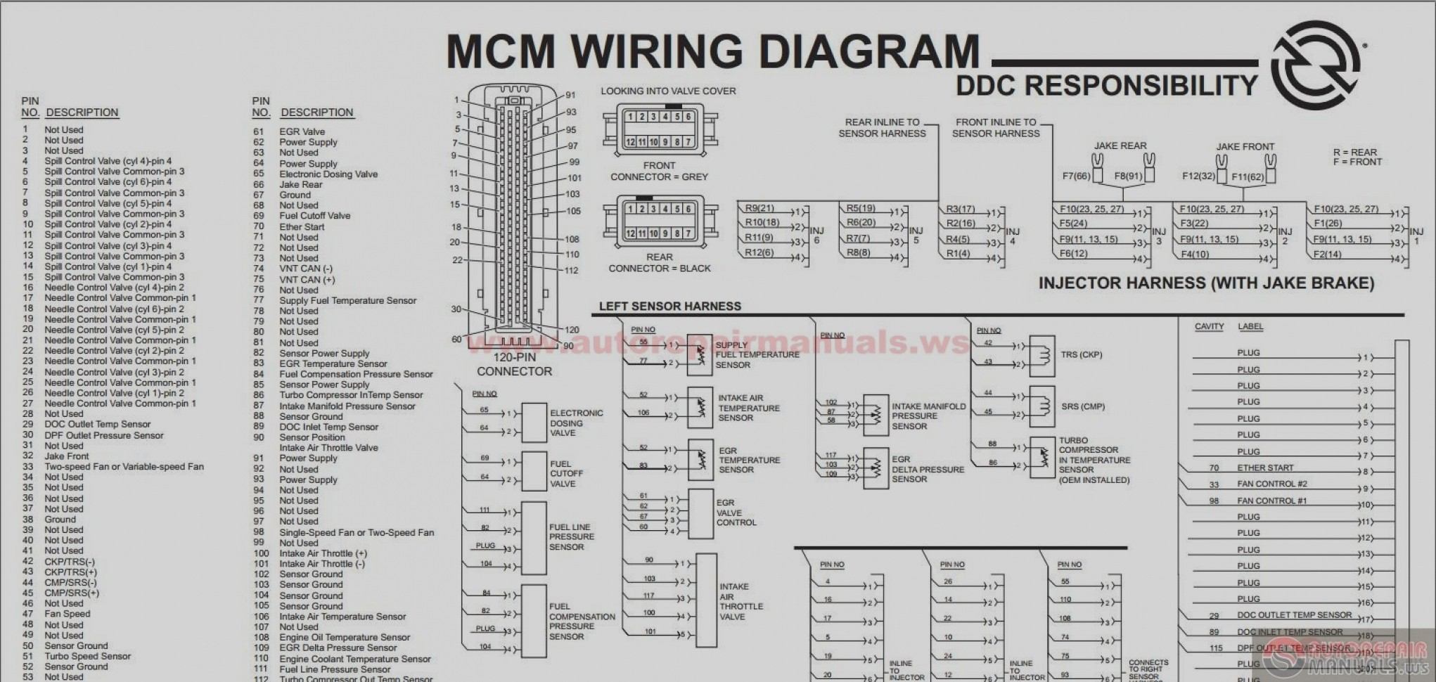 ddec 2 wiring diagram 2002 nissan sentra ecm 2007 detroit sel v best site harness