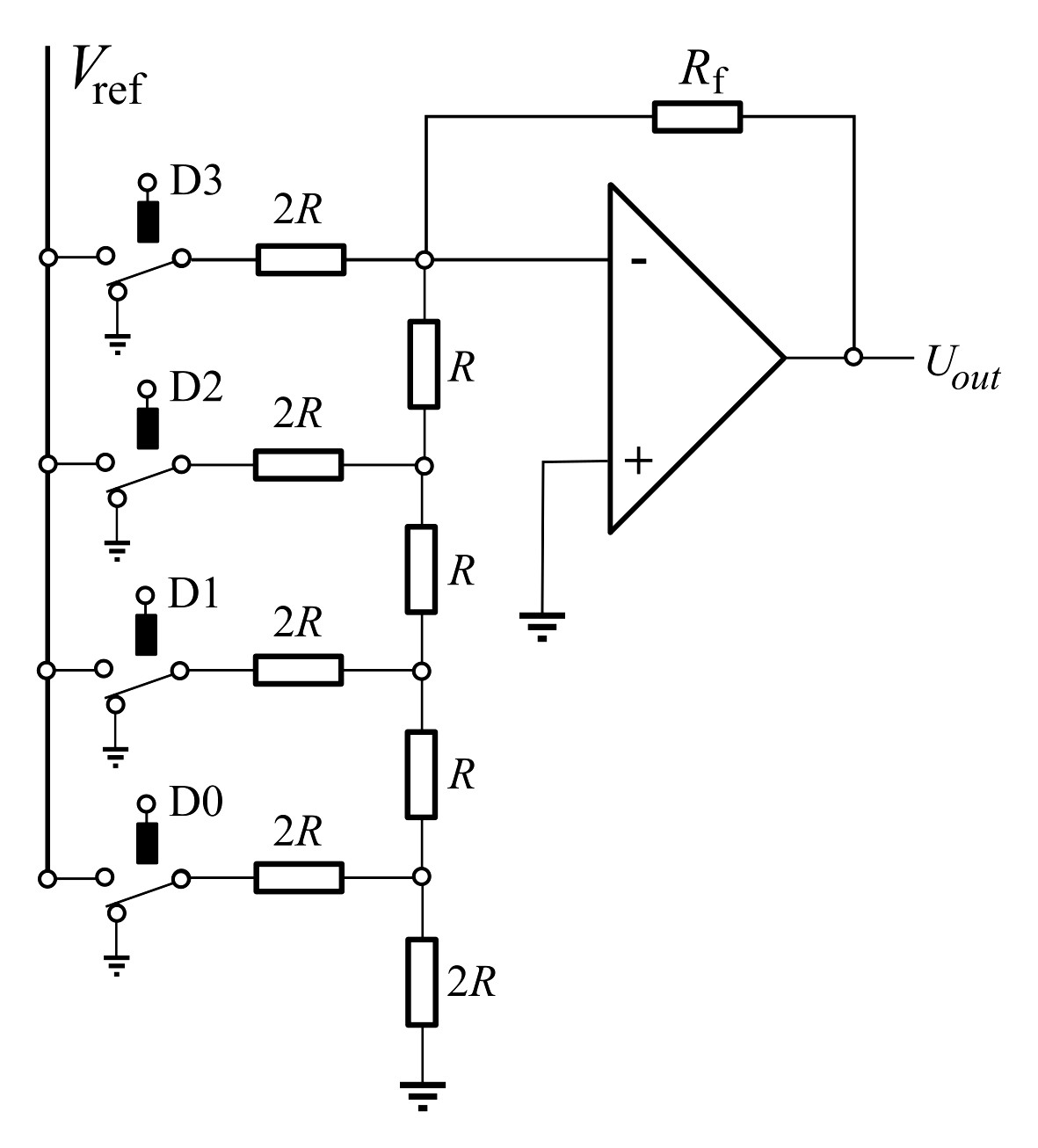 Digital Toog Converter Circuit Diagram