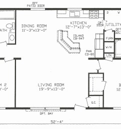 1999 champion mobile home floor plans inspirational mobile house plans home canada small double wide [ 1284 x 798 Pixel ]