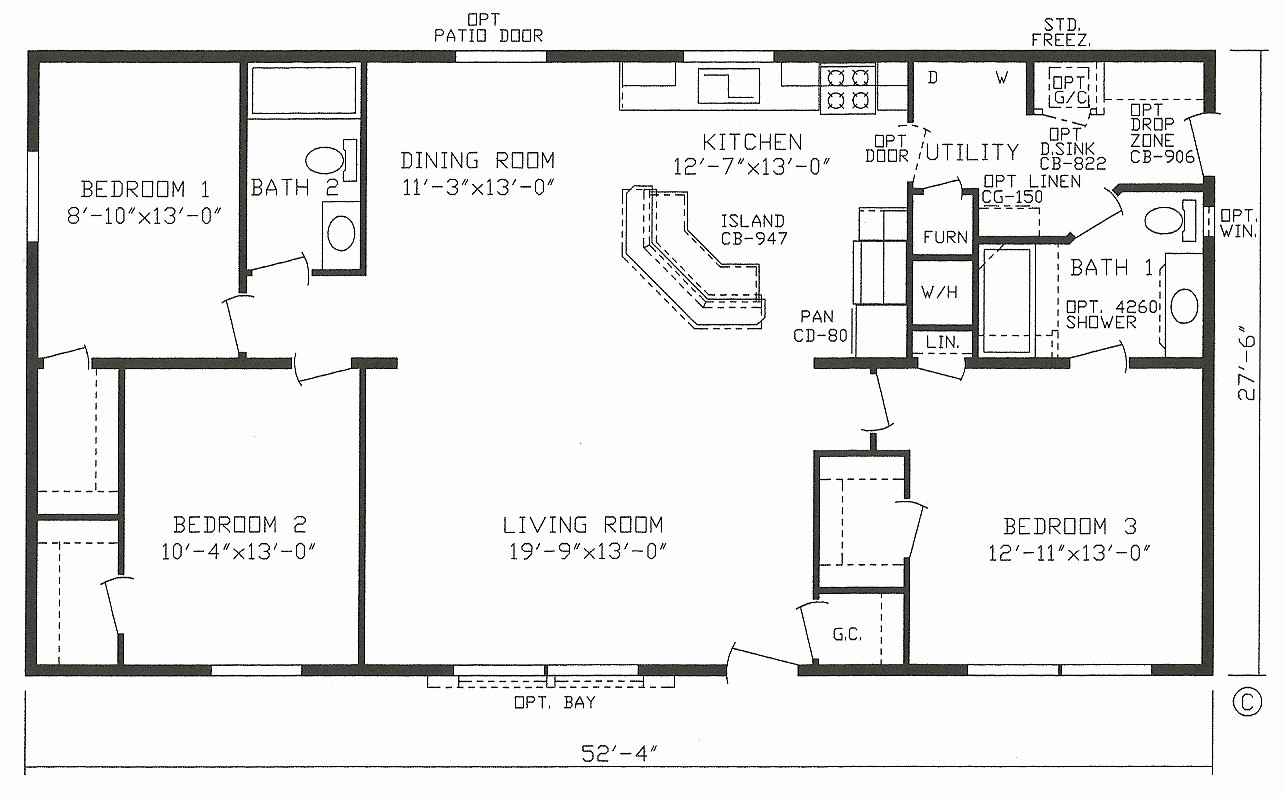 hight resolution of 1999 champion mobile home floor plans inspirational mobile house plans home canada small double wide
