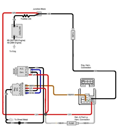 small resolution of 1970 chevy c10 alternator wiring diagram circuit and 3 wire gm alternator wiring gm cs130 alternator