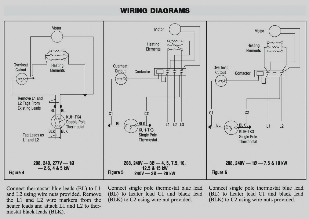 Wiring Diagram For Wall Thermostat