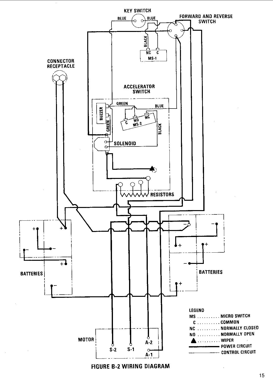 forward reverse switch wiring diagram for capacitor start motor 1976 ezgo golf cart gas engine