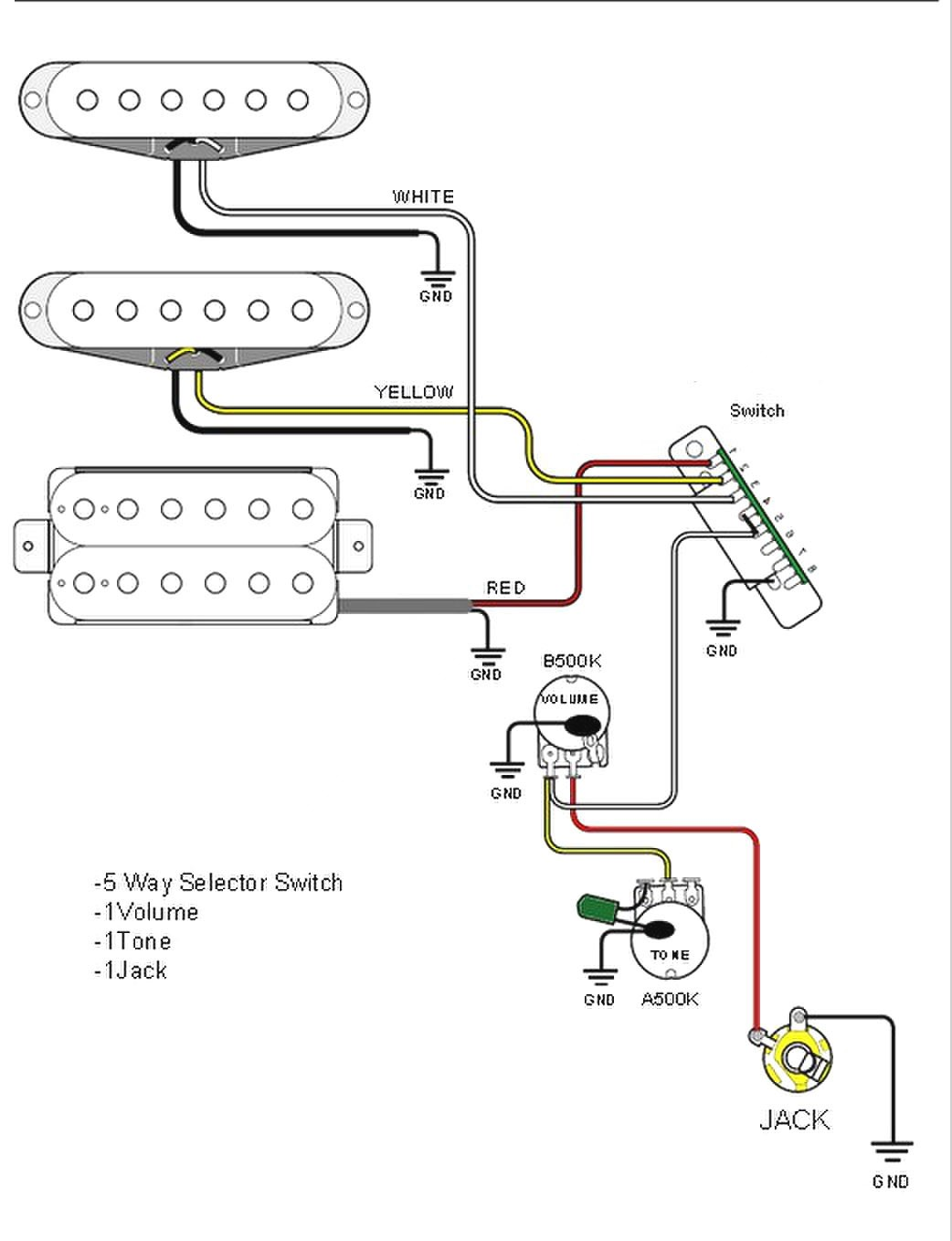 fender vintage noise less pickups wiring diagram