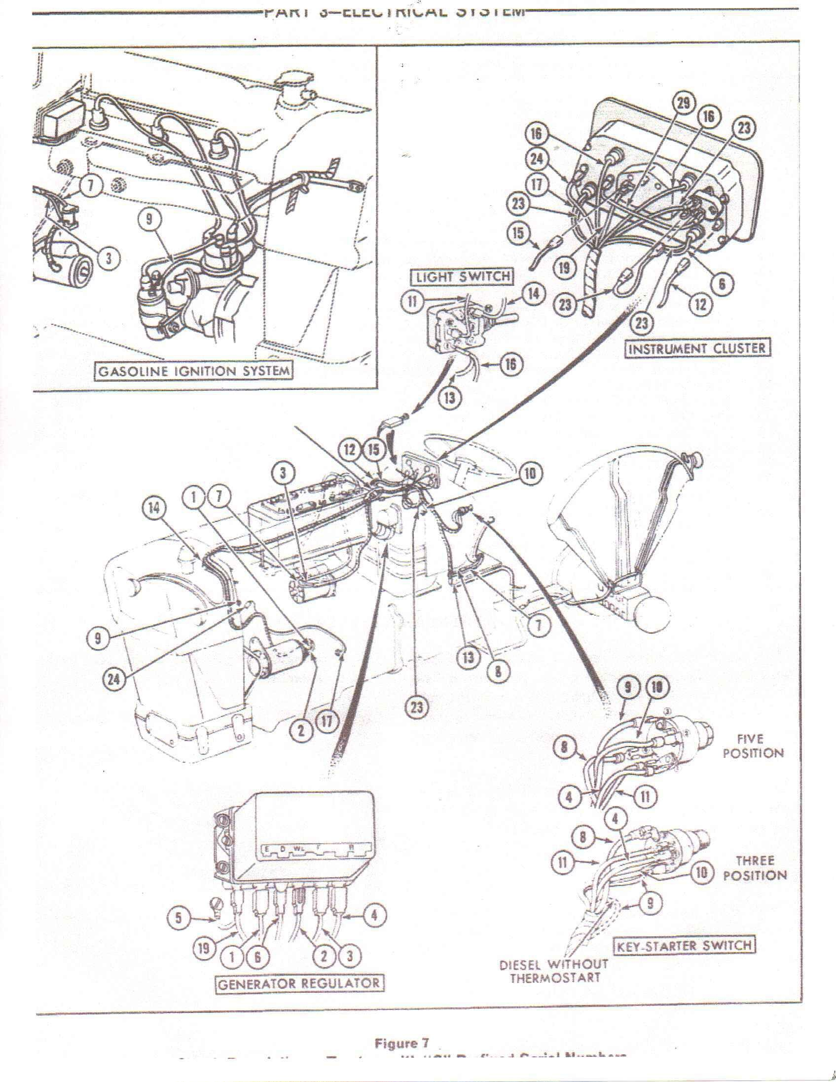 lucas ford tractor ignition switch wiring diagram international cub alternator elegant