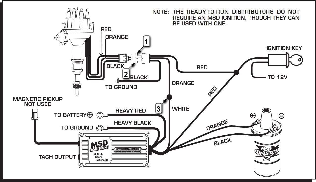 DOWNLOAD [DIAGRAM] Msd Ford Ready To Run Distributor