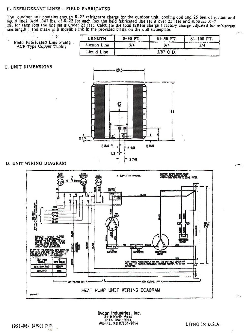medium resolution of 2 ton goodman heat kit wiring diagram