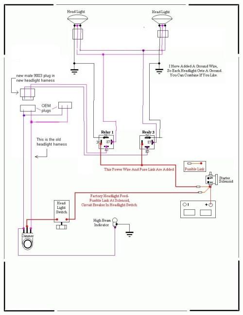 small resolution of nissan h4 wiring diagram u2022 free wiring diagrams rh pcpersia org 1997 toyota tacoma headlight wiring